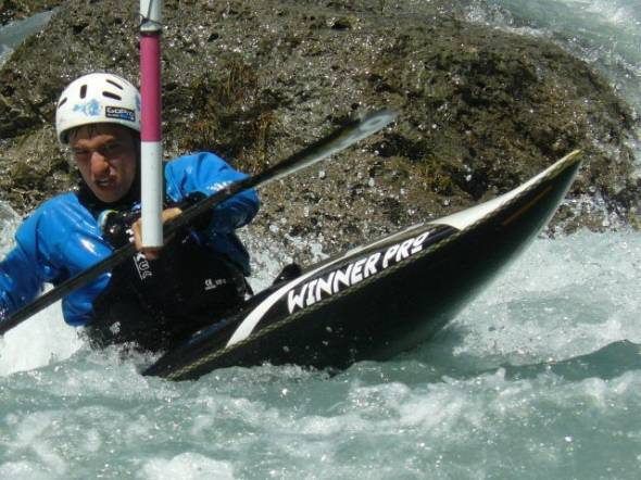 un viennois vice-champion de France de Canoë kayak