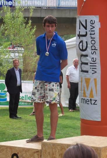 Thomas Janeriat sur le podium à Metz